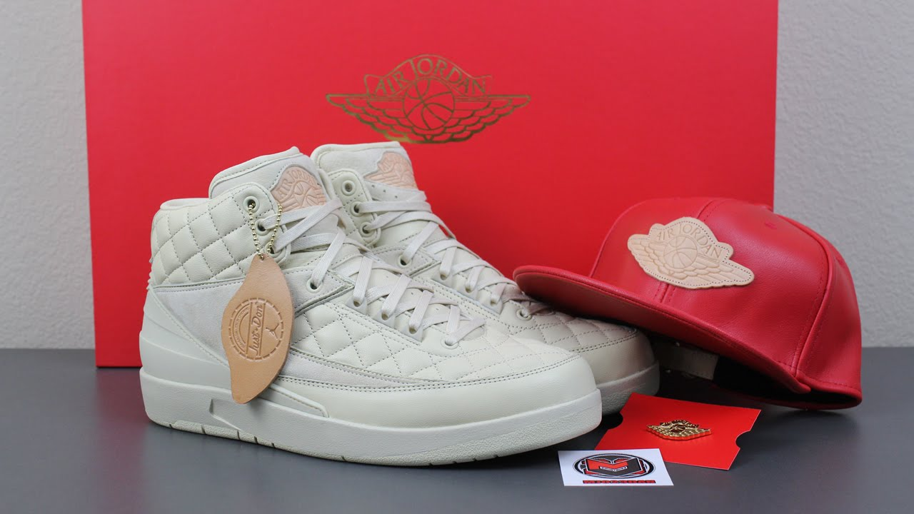 Just Don x Air Jordan 2 II Beach Pack