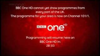 BBC One / HD Test Transmission / 28th October 2010