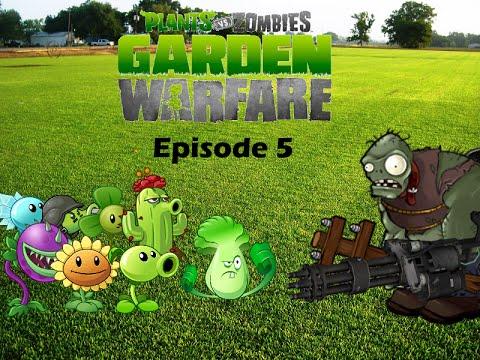 Plants Vs Zombies Garden Warfare Plush Series Episode 5 Gargantuar 39 S New Weapon Youtube