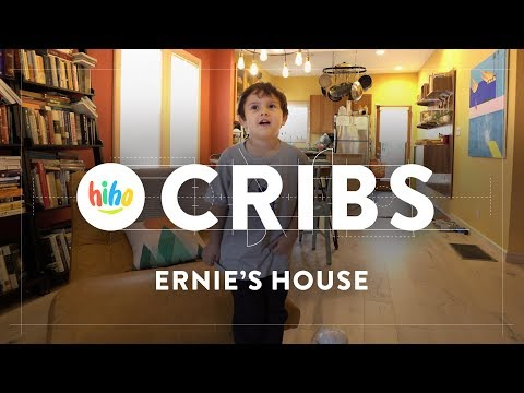 Ernie Gives us a House Tour! | HiHo Cribs | HiHo Kids