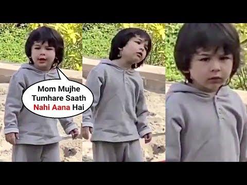 Taimur Ali Khan Throwing Tantrums On Mom Kareena Kapoor