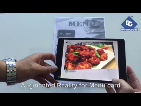 Augmented Reality In Hotel Industry | Restaurants | Menu Card