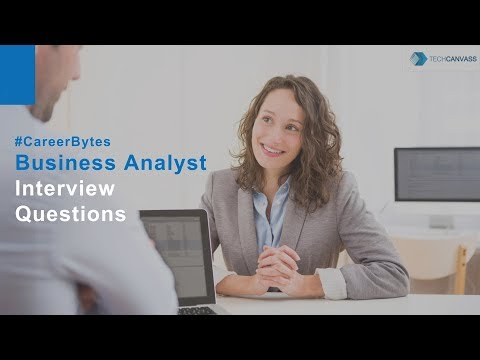 Business Analyst Interview Question | Business Analyst Tutorial