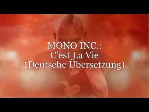 """MONO INC. - """"C'est La Vie"""" (Deutsche Übersetzung)"""