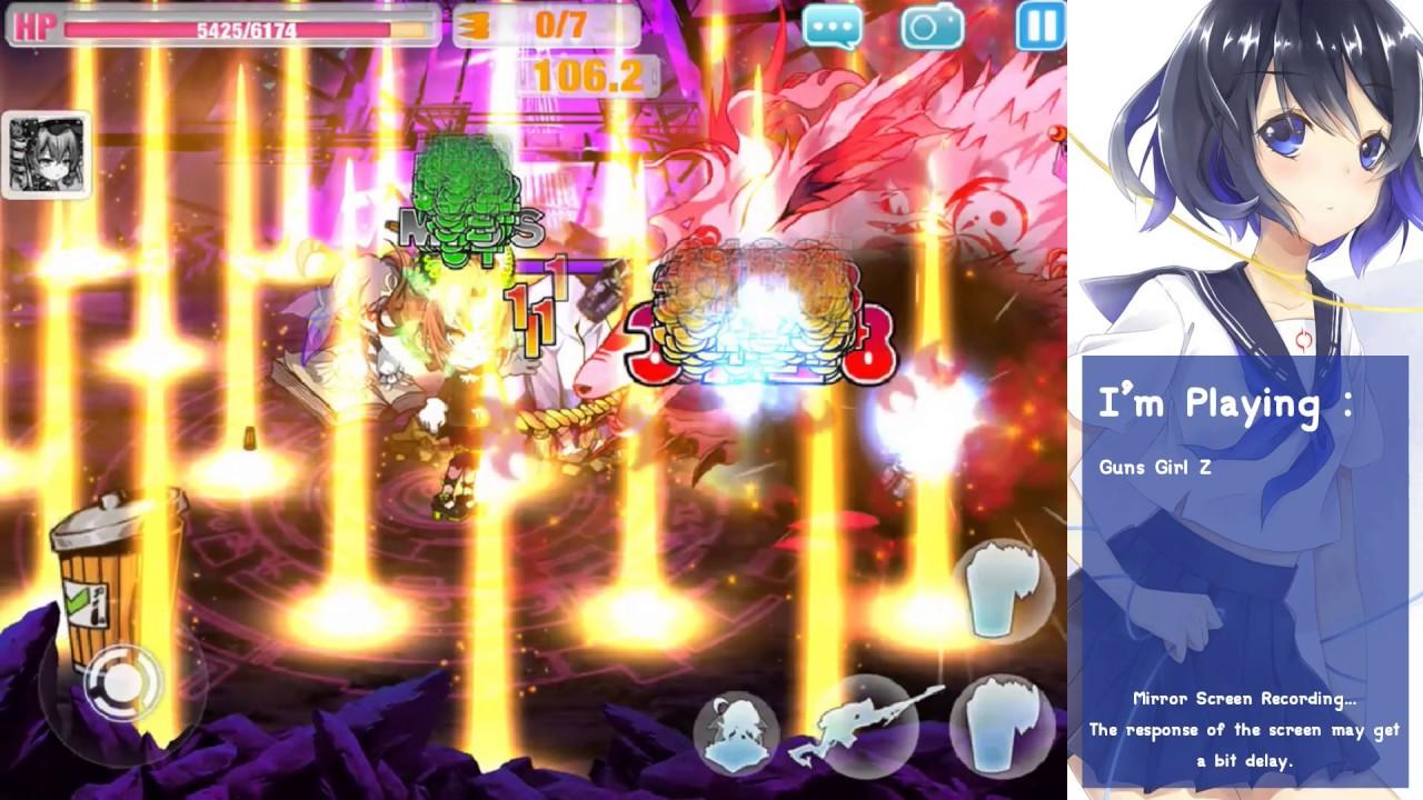 Guns Girl Z (3.8) : World Boss Sakura Final Form (Play test with ...