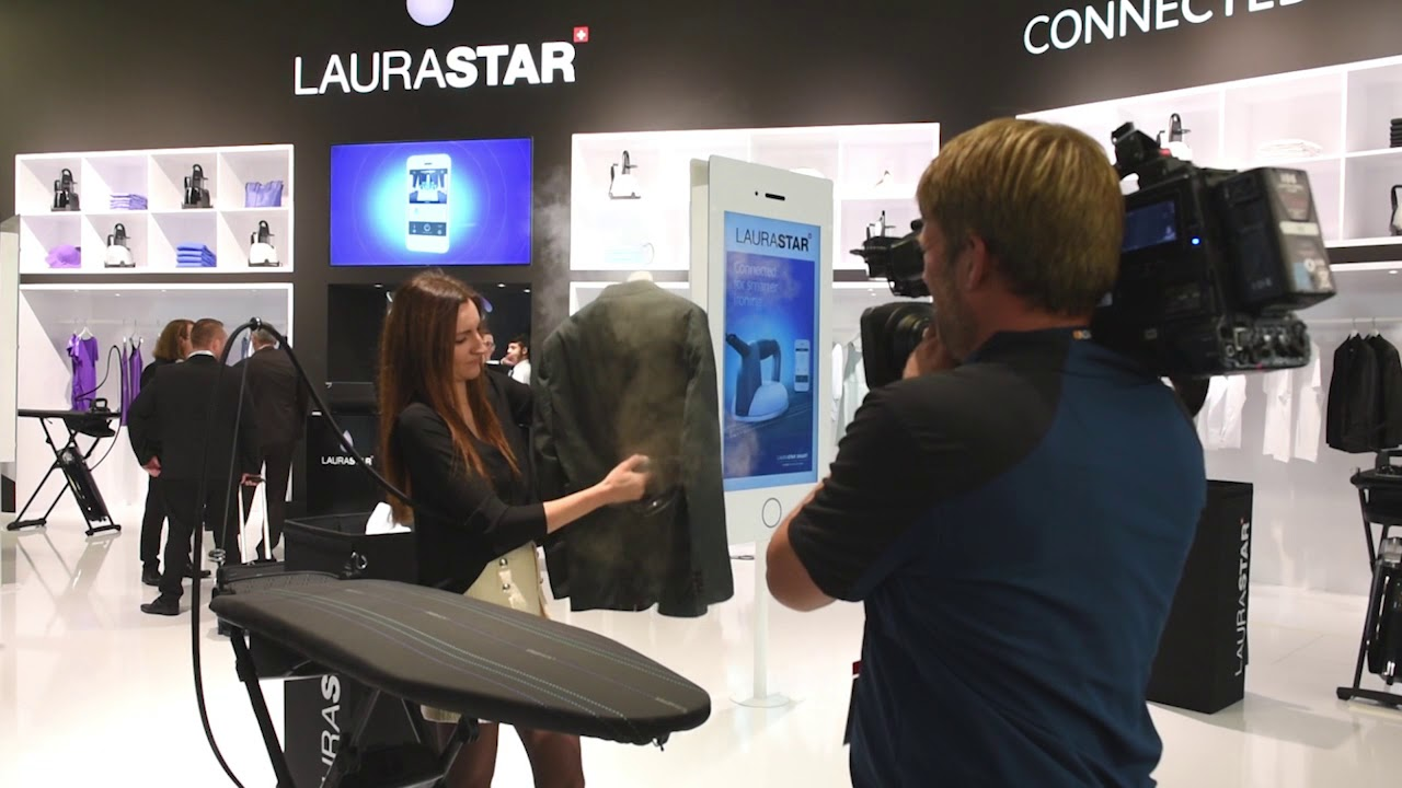 Laurastar Launches The World S First Connected Iron At Ifa Berlin