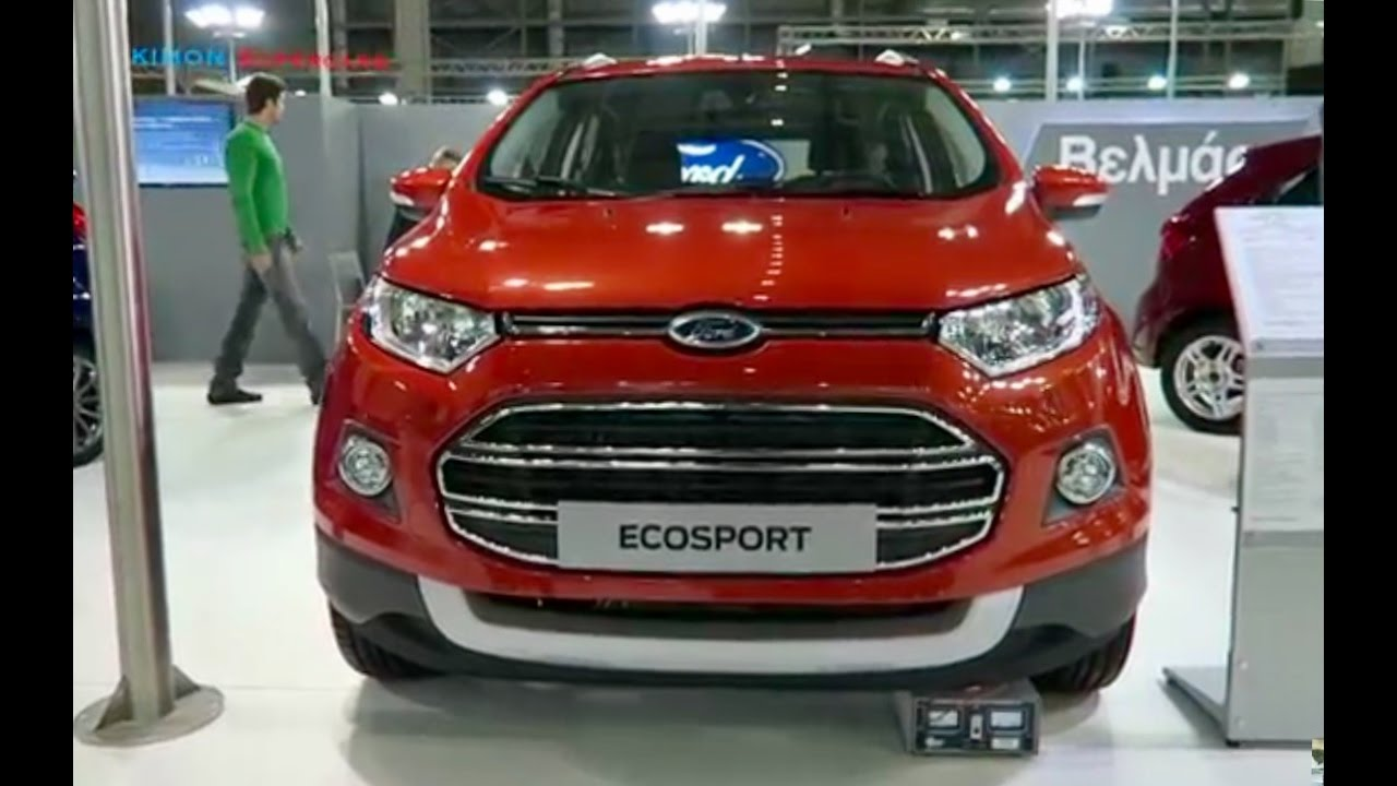 new 2018 ford ecosport exterior interior youtube. Black Bedroom Furniture Sets. Home Design Ideas