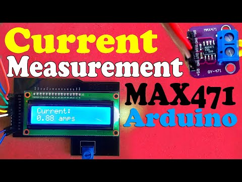 Max471 Current Sensor With Arduino And 16x2 LCD, Max471 Arduino, Measure Current Using Arduino Nano