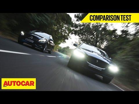 Jaguar XE 25T VS Mercedes C 200   Comparison Test   Autocar India