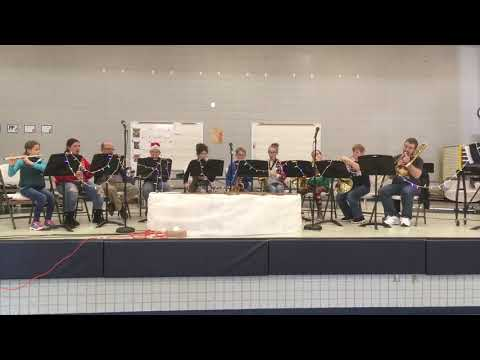 Iowa Great Lakes Lutheran School Holiday Lunch Concert 2018
