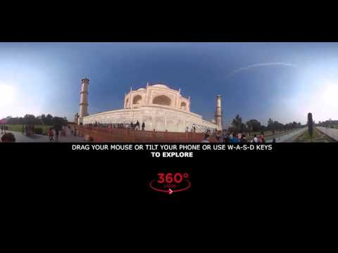 Taj Mahal 360 Degree (VR) Tour (India)