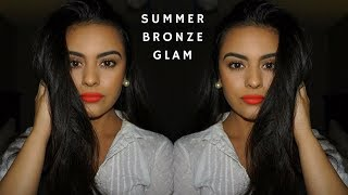 DRUGSTORE SUMMER BRONZE & CORAL LIPS