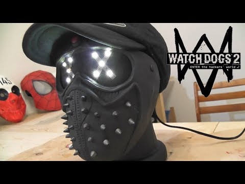 Как сделать Маску-Ночник Ренча из игры Watch Dogs 2 - Клип смотреть онлайн с ютуб youtube, скачать