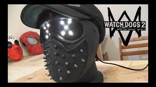 Как сделать Маску-Ночник Ренча из игры Watch Dogs 2