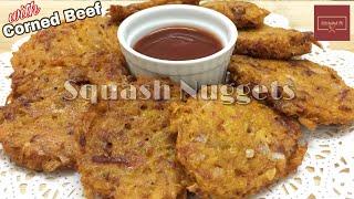 Kalabasa Corned Beef Nuggets   KitcheNet Ph