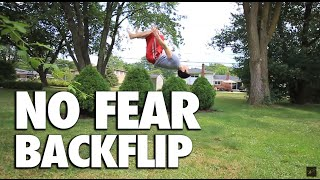 Backflip Fear  - How I Got Over It