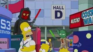 "Familia Simpsons en el ""E4"" (English)"