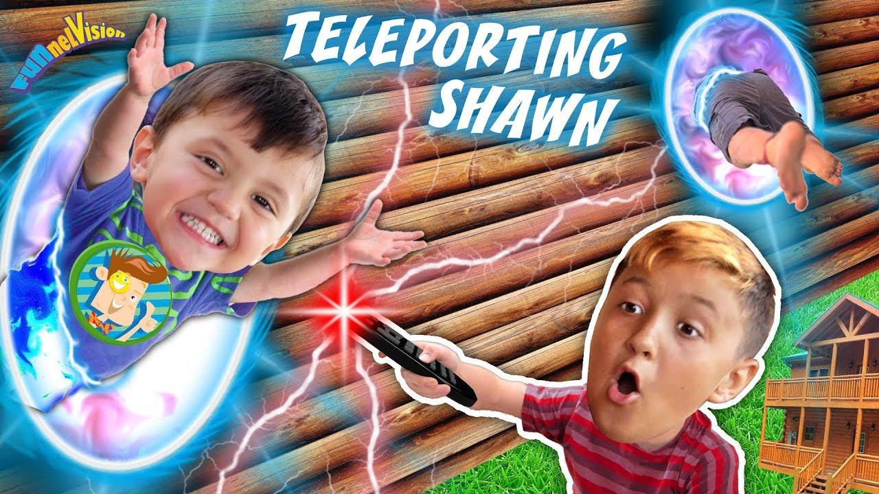 Teleporting Shawn Magic Mountain Cabin House Funnel Fam