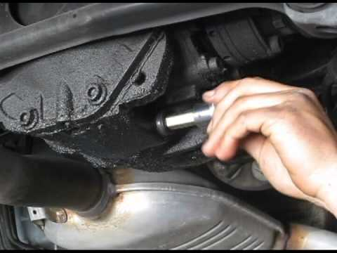 1994 Mercedes E320 Differential Oil Change Youtube