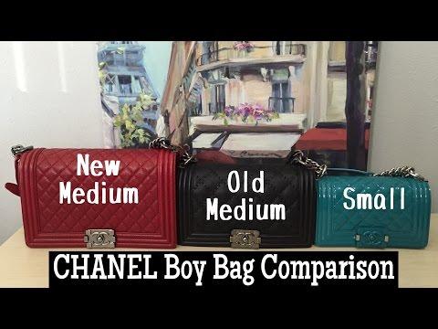 8dc78ba871bf7 Chanel Chevron vs. Caviar Boy Bag Comparisons. WARNING  The ...