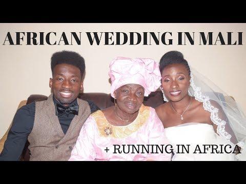 wedding in west africa mali | running in africa