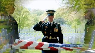 At Arlington National Cemetery To Honor the Memory of Glen D. Wallace SFC US Army