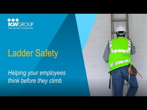 Ladder Safety Webinar for the Construction Trades - ICW Group