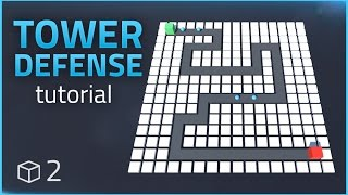 Wie man ein Tower Defense Spiel (E02 Feind AI) - Unity-Tutorial