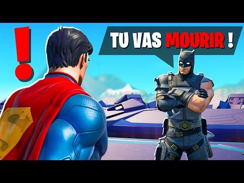 Je PARLE aux NOUVEAUX BOSS avec SUPERMAN !! Ils CACHENT UN SECRET !! (Fortnite Saison 7)