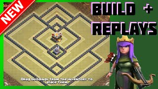 Sweet Th11 War Base! [Build + Replays] | The Reactor | Clash Of Clans (CoC)