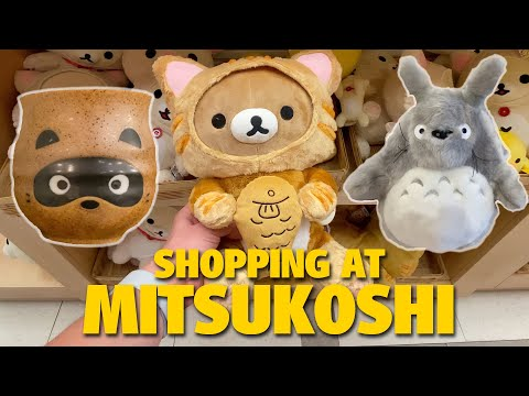 Shopping at Mitsukoshi in the Japan Pavilion at Epcot