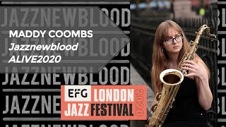 Maddy Coombs #JazznewbloodALIVE2020