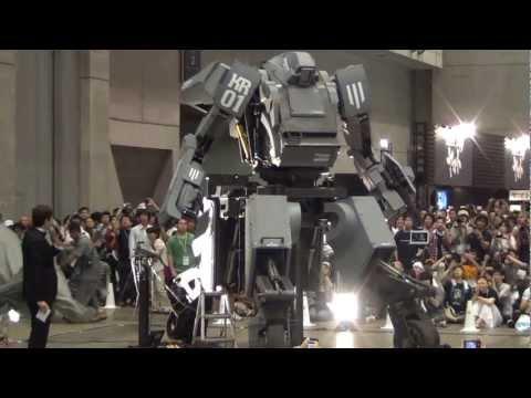 搭乗可能な巨大ロボ「クラタス」 PVとお披露目場面 Robot can be ride