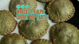 Wreck-it Ralph Cherry Pop Tart Recipe