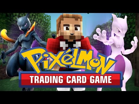 Pixelmon TCG BATTLES! (Minecraft Pokemon Trading Card Game)