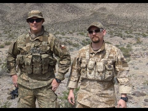 Up Close Look At Helikon-Tex Gear In PenCott Badlands & Sandstorm