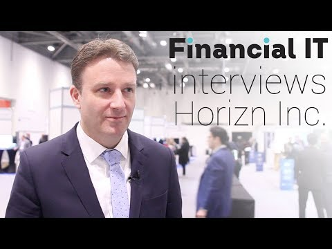Financial IT speaks with Steve Frook, VP Sales, Horizn Inc. at FinovateEurope 2018
