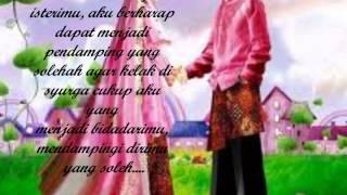 surat untuk bakal suami