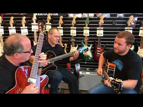 Ken Karsh, Stephen Delach, and Gavin Horning - N Stuff Music Eastman Guitar Day