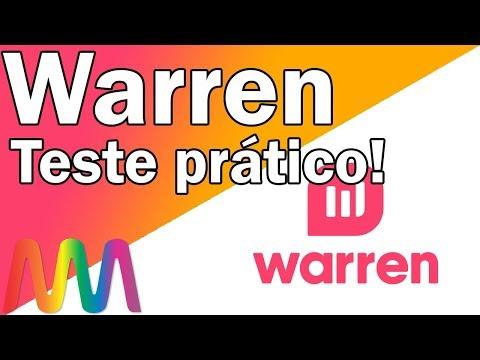 Warren -  Testando na prática! / Depositei R$ 100 no robô de investimentos.