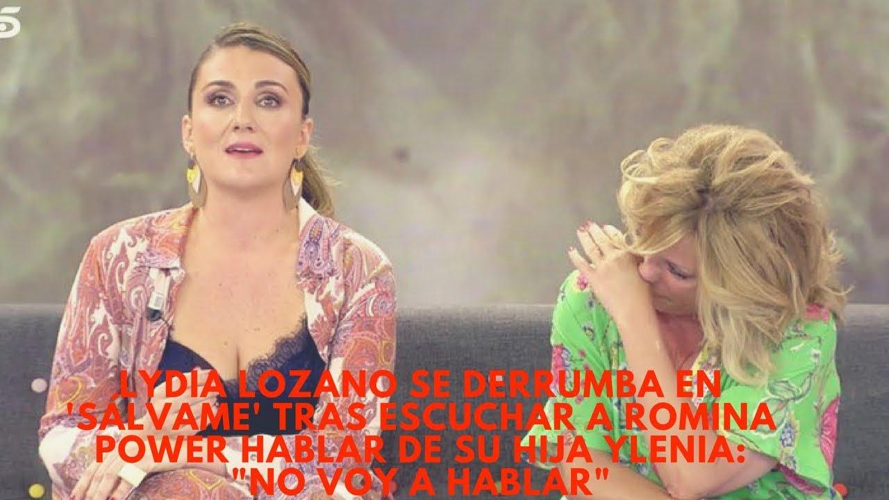 Lydia Lozano Se Derrumba En Salvame Tras Escuchar A Romina Power