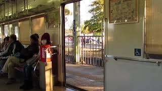 和歌山電鉄 2270系 ドア開閉