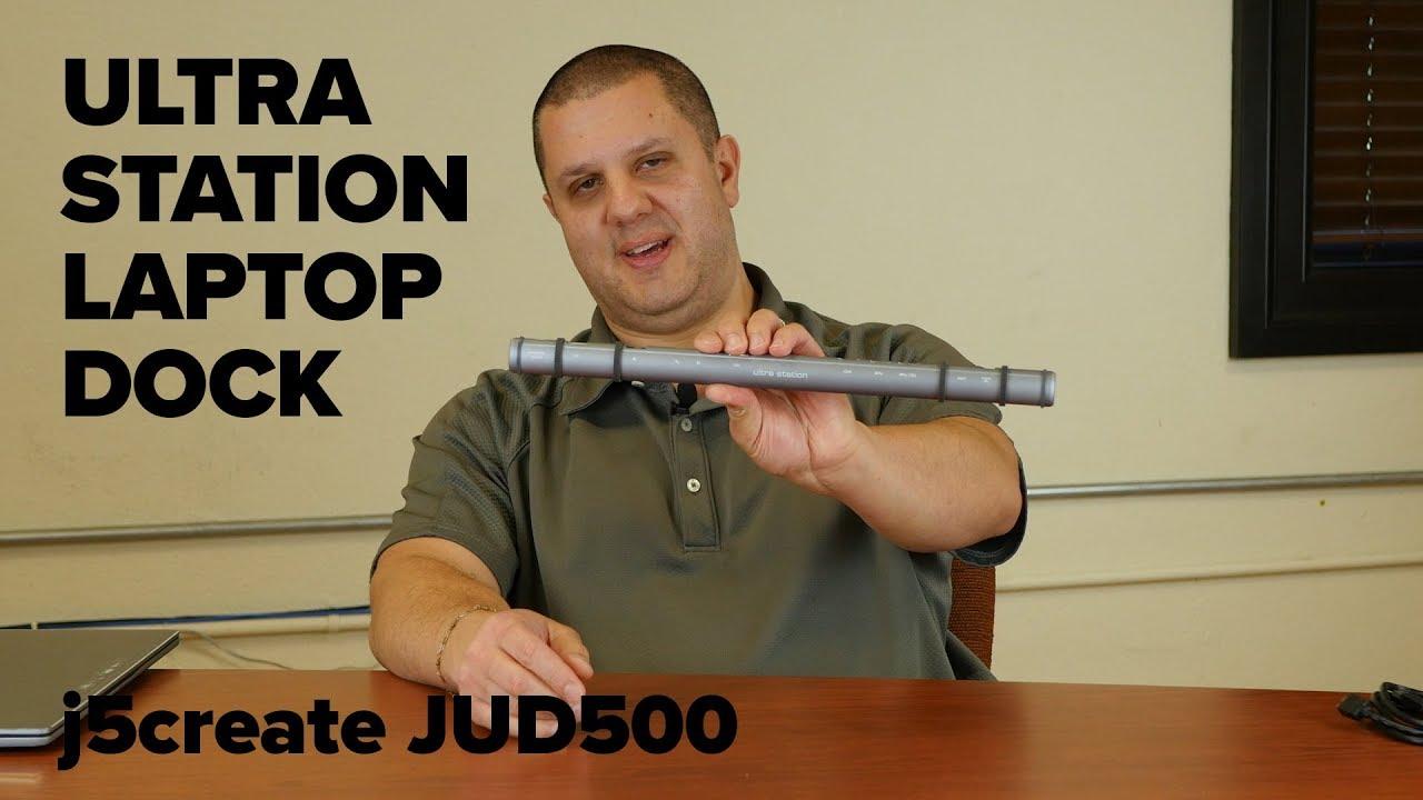 j5create Ultra Station Laptop Dock JUD500