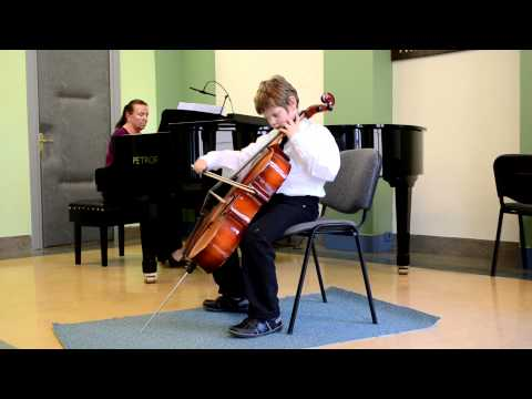 Bernhard Romberg, Sonata No. 1, Allegro, Josef Plasil, Miriam Puklova