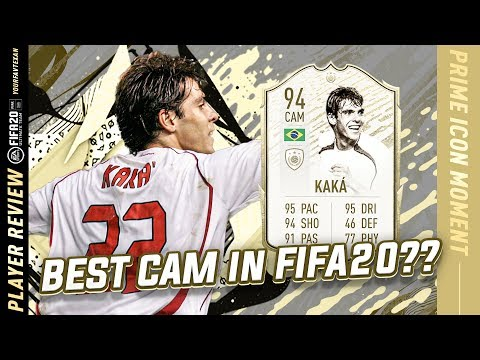 TRANSCENDENCE!!! | ICON MOMENTS KAKA PLAYER REVIEW | 94 ICON MOMENTS KAKA REVIEW | FIFA 20