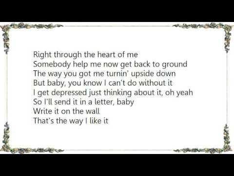 Send somebody lyrics