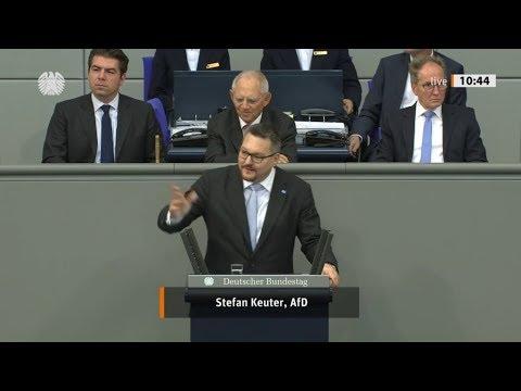 Bundestag. Deutschland wurde durch die Altparteien vor die Wand gefahren. Stefan Keuter AfD 25.10.19