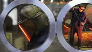 Exclusive heat - Kuhn Special Steel image video - 2 The centrifugal casting - corporate video