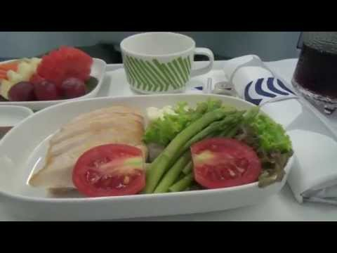 Finnair flight Bangkok-Helsinki on business