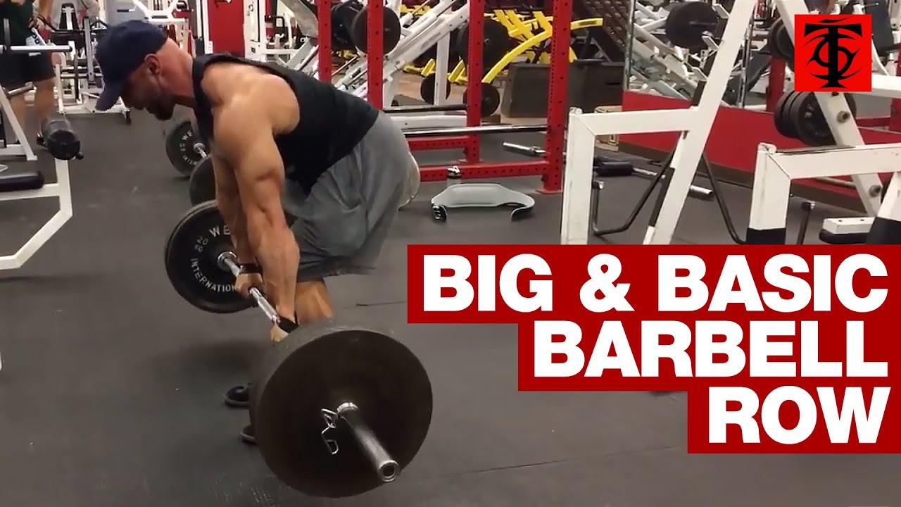 Barbell Row - YouTube